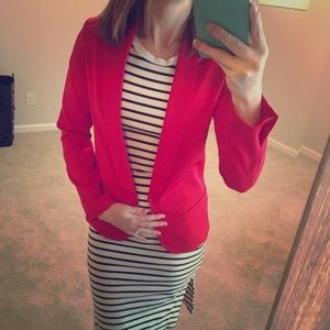 Red Blazer Size Small
